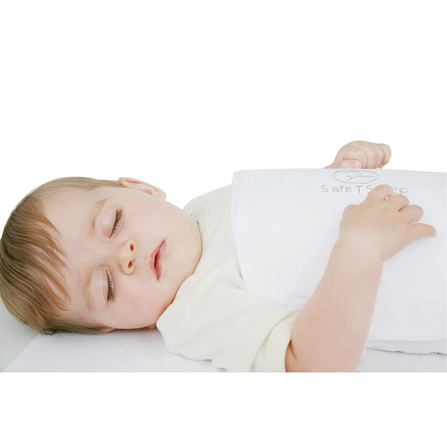 Safe T Sleep Sleepwrap Classic Baby Swaddle For Bassinets, Cribs and Single Beds SafeT sleep Classic