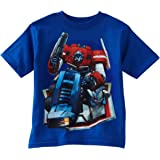 "Transformers ""Optimus Prime"" Blue Kids T-Shirt"