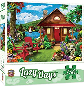 MasterPieces Lazy Days 750 Puzzles Collection - Waterfront 750 Piece Jigsaw Puzzle