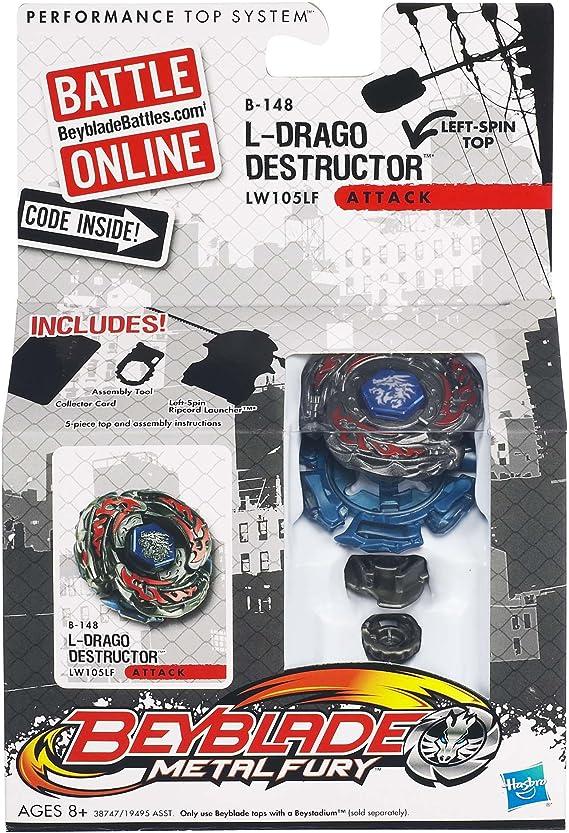 Best Birthday Gift BEYBLADE 4D METAL Beyblades Toy Set L-Drago Destroyer