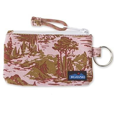 KAVU Stirling Double Sided Slim Cotton Canvas Zip Wallet ...
