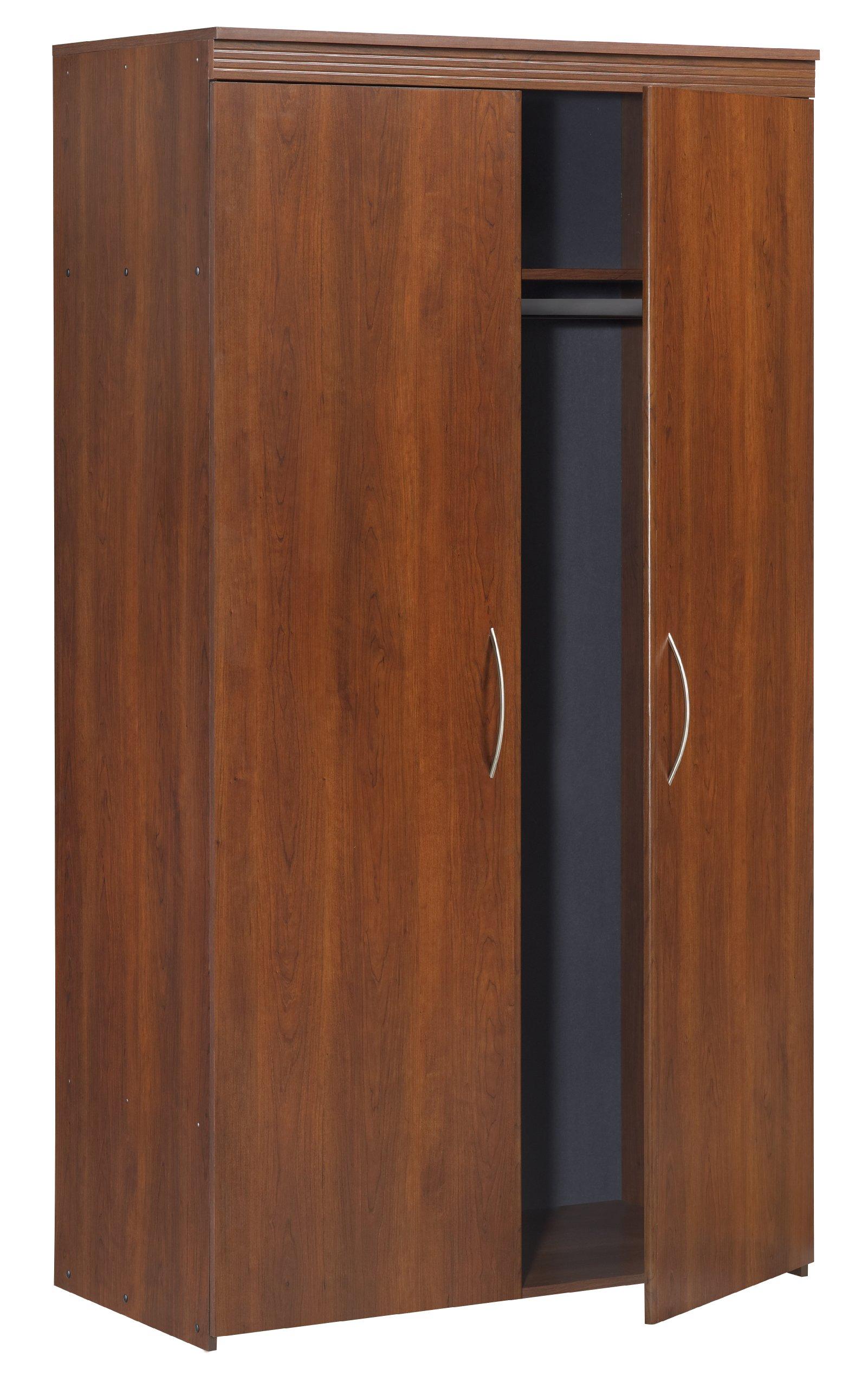 Black & Decker BS106173HH 2 Door Wardrobe with Decorative Moulding