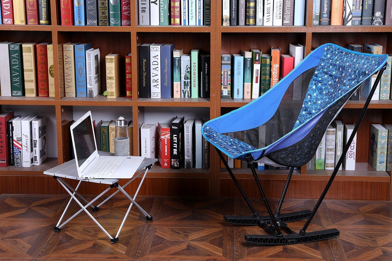 Pesca Senderismo Viajes Playa YAHILL Mesa Plegable Camping de Aluminio Mesa Playa de Acampar Enrollable de 3 tama/ños con Bolso para cargarla para picnics Dentro y Fuera