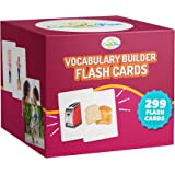Vocabulary Builder Flash Cards - 299 Educational Photo Cards - Emotions, Go Togethers, Nouns, Opposites, Prepositions, Verbs