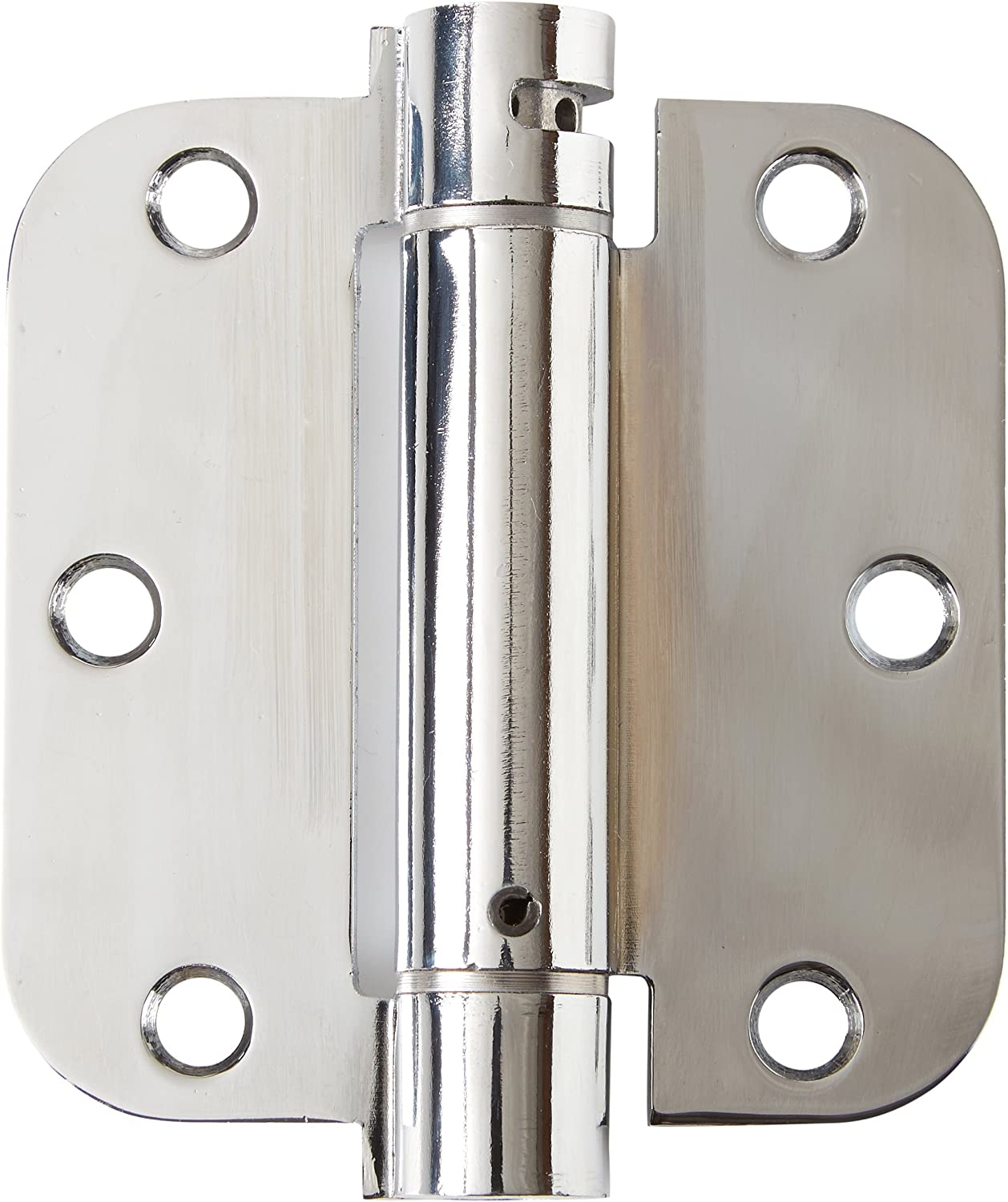 Deltana DSH35R55 Single Action Steel 3 1//2-Inch x 3 1//2-Inch x 5//8-Inch Spring Hinge