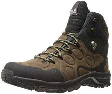 Jack Wolfskin Mens Altiplano Prime Texapore Mid-M Hiking Boot, Mocca, ...