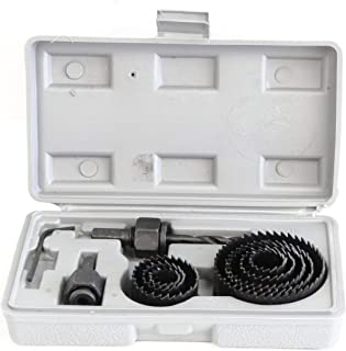 Rolson 58129 Holesaw Set - 12 Pieces