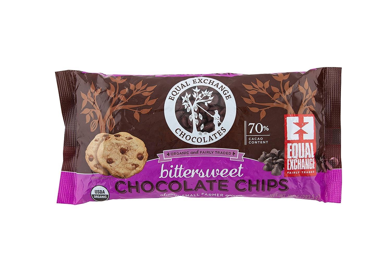 Amazon.com : Equal Exchange Organic Chocolate Chips, Bittersweet ...