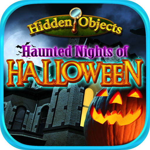 Hidden Objects Haunted Halloween Nights -