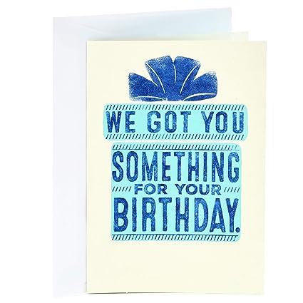 Amazon Hallmark Shoebox Funny Birthday Card From Both Of Us