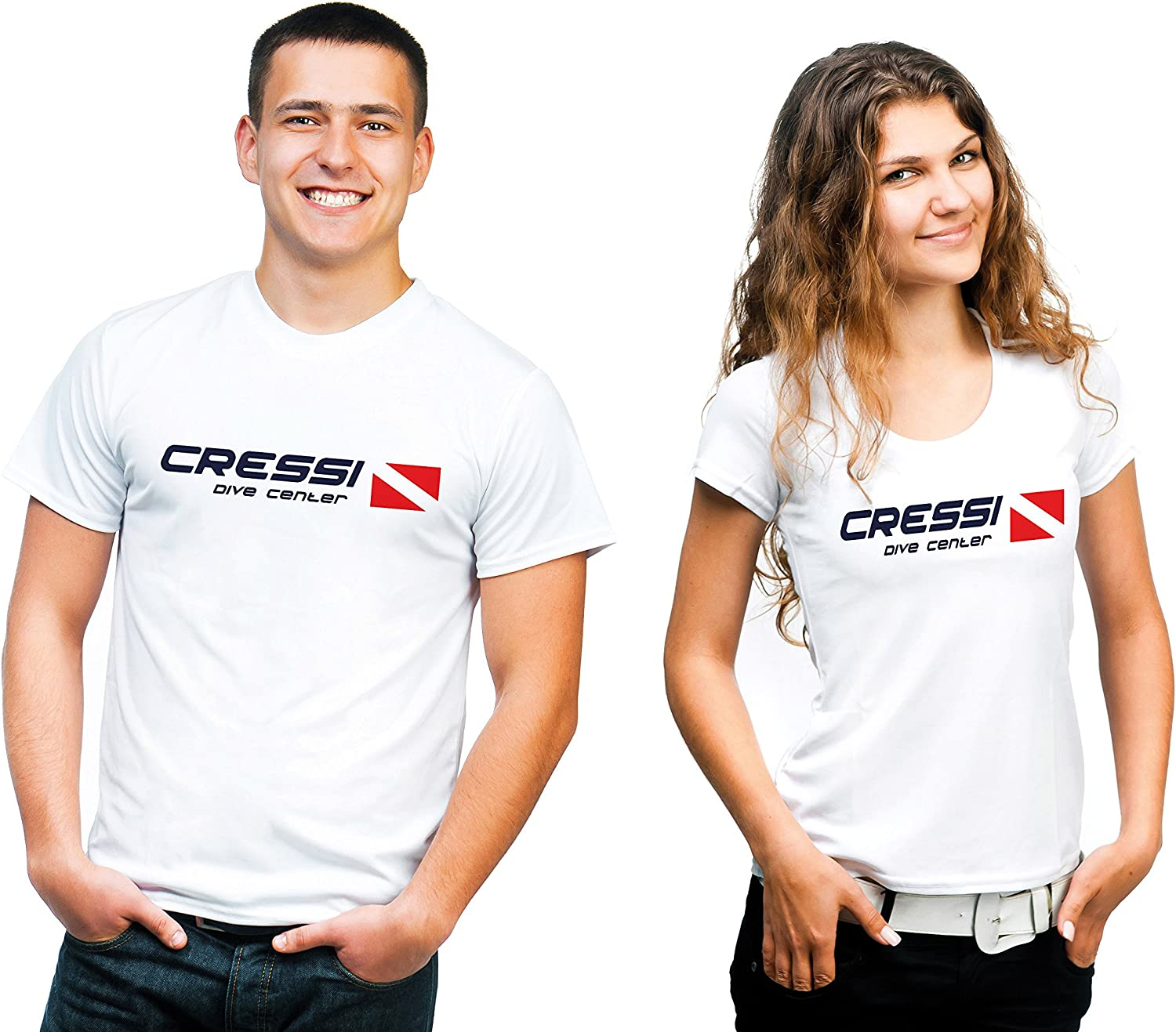 Maglietta Uomo Cressi T-Shirt Dive Center