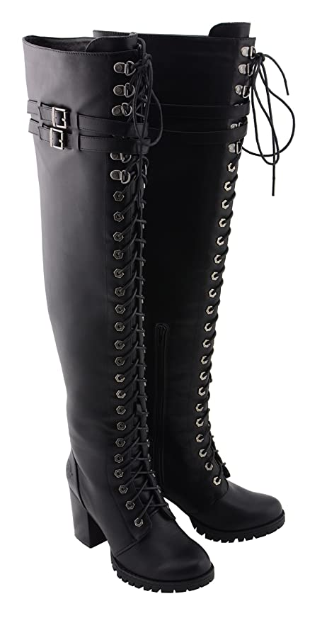 5d20bf3cfde Amazon.com: Milwaukee Performance Women's Boot with Lace to Toe Design  (Black, 9): Automotive