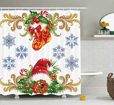 ZengJianSm Human Anatomy Shower Curtain Vintage Chart Of Body Front Back Skeleton And Muscle System