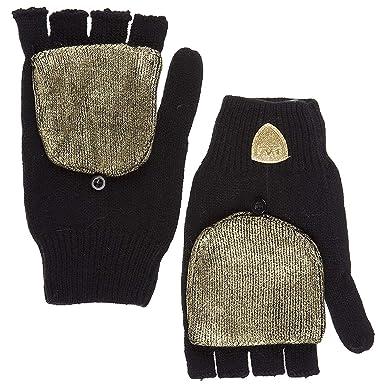 Emporio Armani EA7 gants femme black S  Amazon.fr  Vêtements et accessoires 6b47e803868