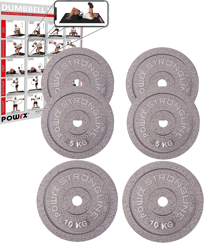 30 mm Disque dhalt/ères Poids dhalt/ères en Fer de 2,5 kg /à 40 kg