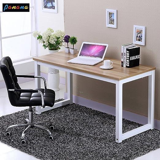 Panana Diseño Laptop Mesa Escritorio 120 cm Mesa de Oficina Mesa ...