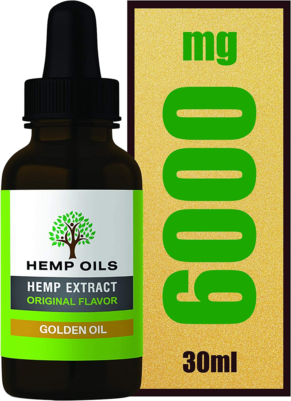 Botella grande de 30 ml, 20% de extracto de cáñamo (dorado), aceite de cáñamo de alta resistencia, suministro de 3 meses, extracción de CO2