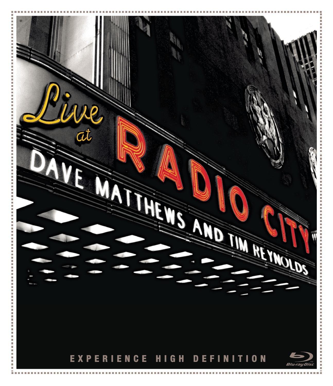 Blu-ray : Dave Matthews - Dave Matthews & Tim Reynolds: Live at Radio City (2 Disc)