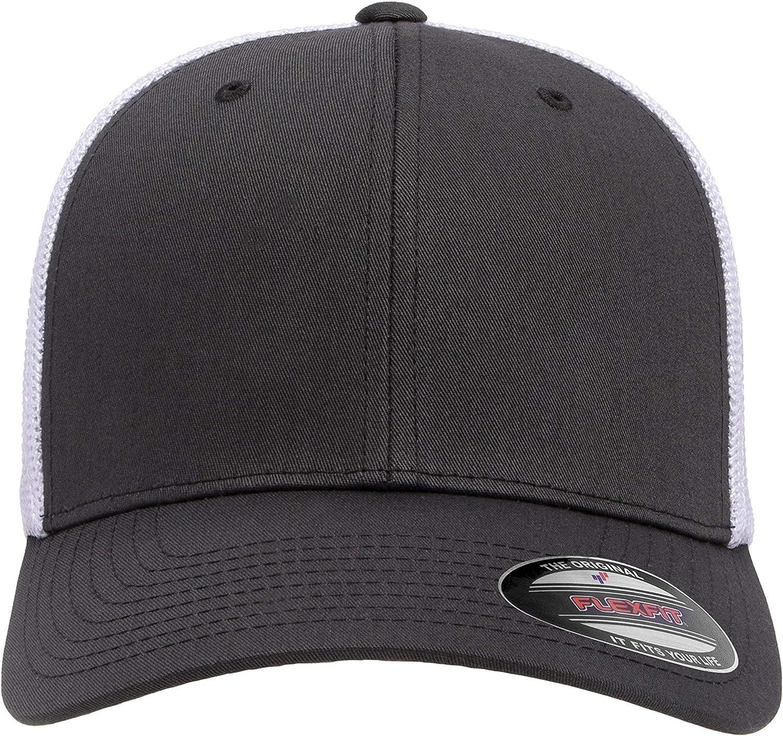 Flexfit Unisex-Adult's Trucker Mesh Cap, Black: Flexfit: Clothing