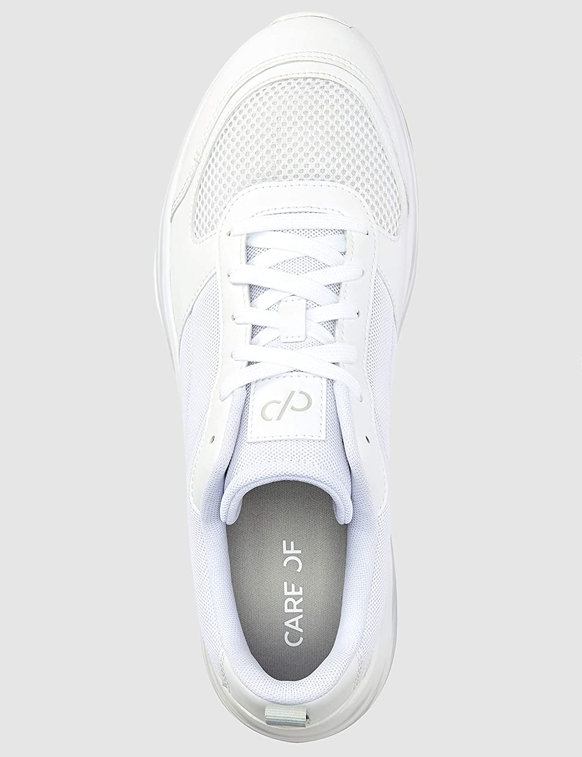 Care Of By Puma Baskets Basses En Maille Pour Homme Blanc White