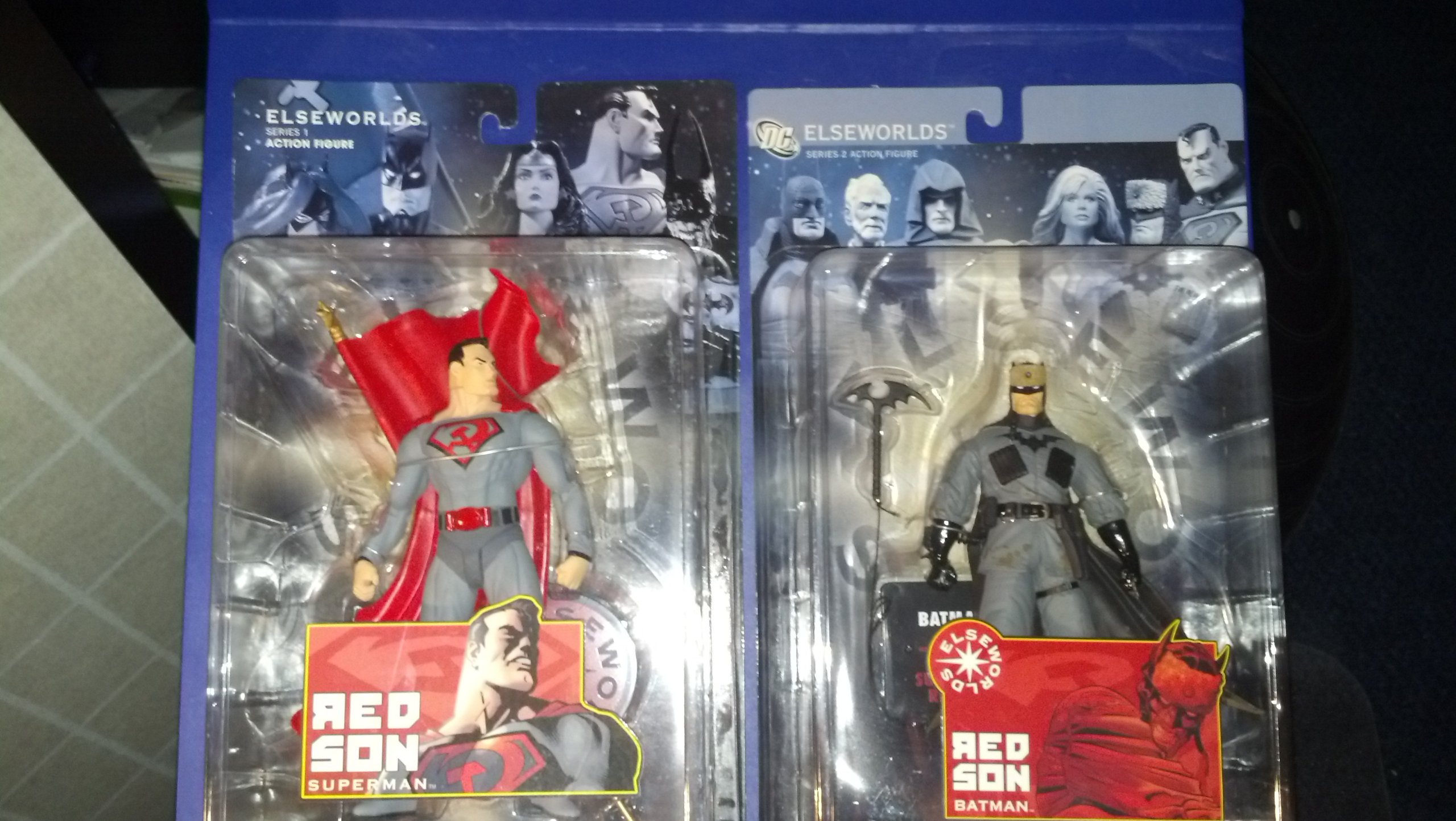 DC Direct Red Son Superman Figure - Elseworlds Series 1