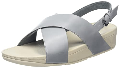 Fitflop Lulu Cross Back-Strap Sandals amazon-shoes marroni Estate