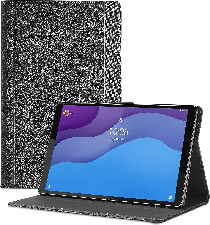 ProCase Folio Case for Lenovo Tab M10 HD 2nd Gen (TB-X306X) / Smart Tab M10 HD 2nd Gen (TB-X306F), Leather Stand Protective Case Smart Cover for Lenovo M10 HD 2nd Gen 10.1