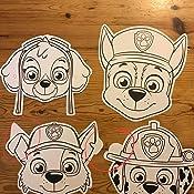 paw patrol mein maskenbuch mit 10 masken. Black Bedroom Furniture Sets. Home Design Ideas