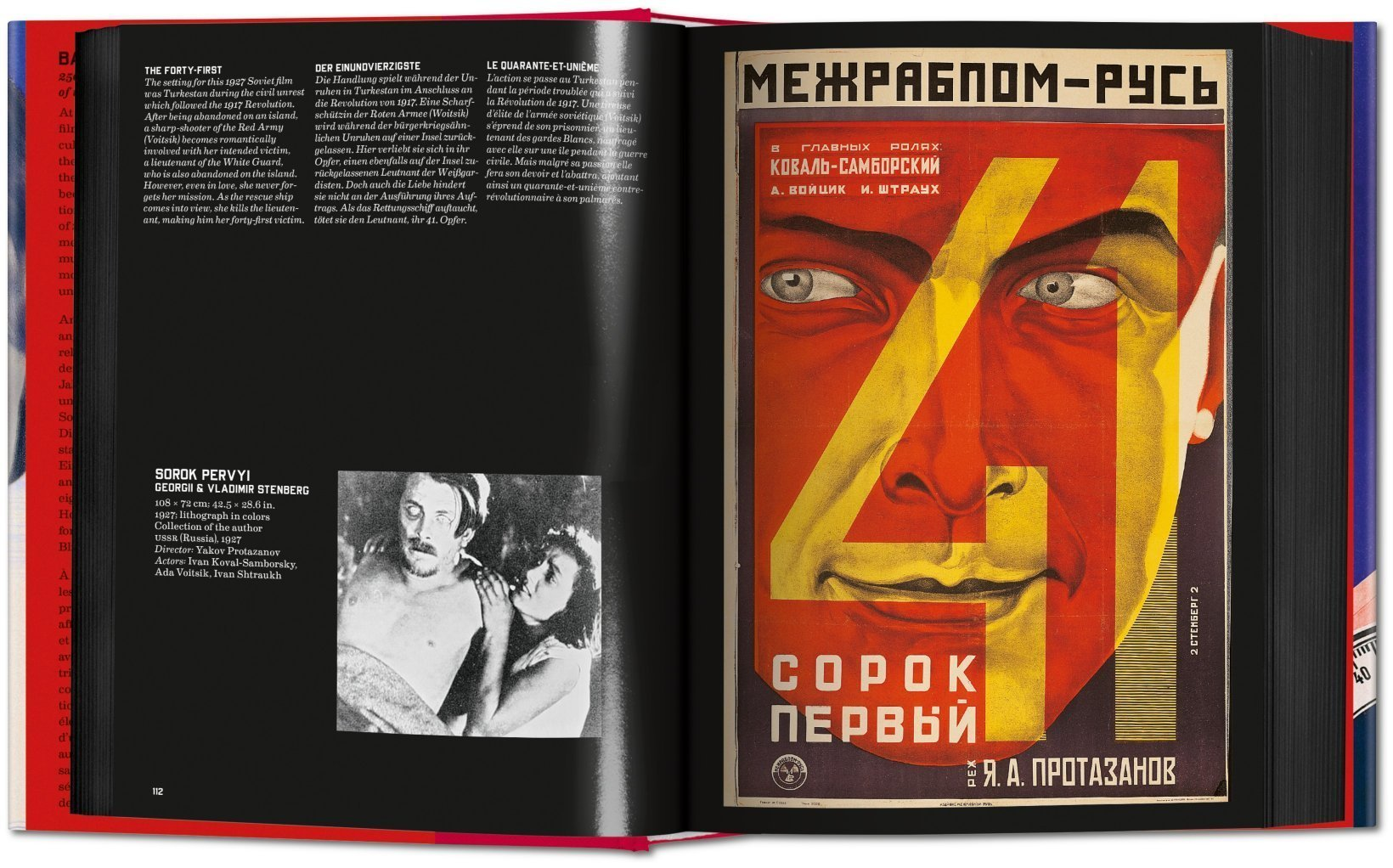 Film Posters Of The Russian Avant Garde Multilingual Edition
