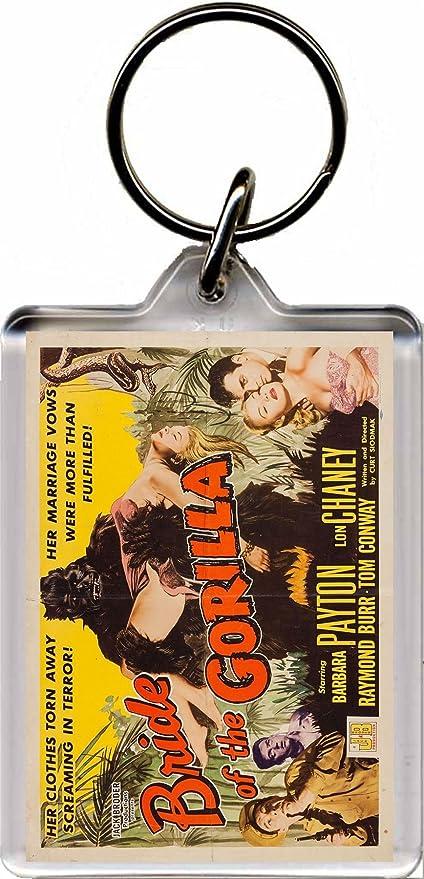 La Novia del gorila - B película Classic - Llavero un ...