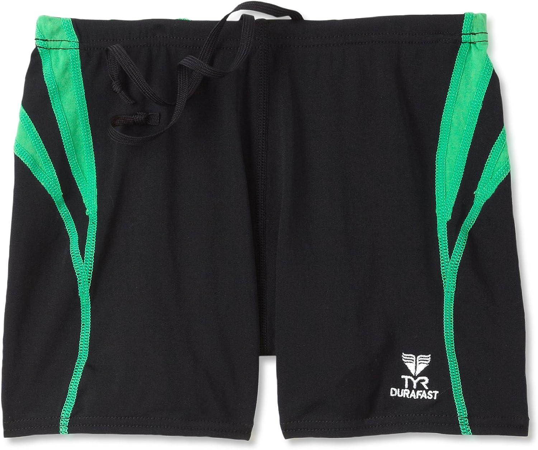 TYR Sport Boys' Alliance Durafast Splice Square Leg Swim Suit
