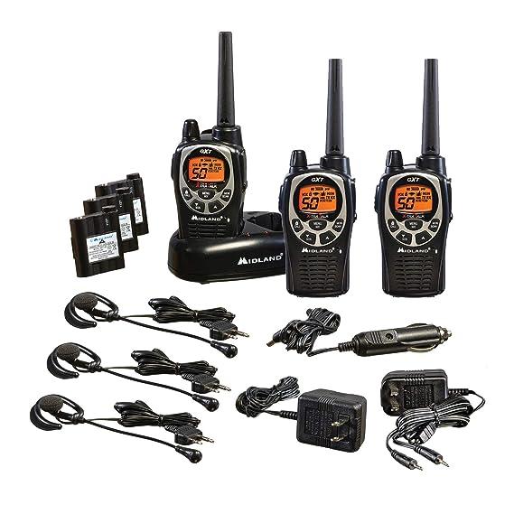 Midland - GXT1000VP4, 50 Channel GMRS Two-Way Radio - Up to 36 Mile Range  Walkie Talkie, 142 Privacy Codes, Waterproof, NOAA Weather Scan + Alert (3