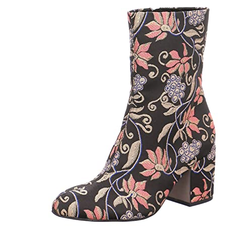 2f056032715 Tamaris Ladies 25024 Heel Ankle Boots in Black Multi: Amazon.co.uk ...