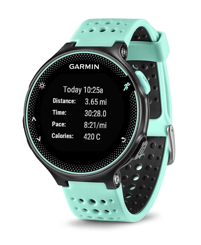 16aea073cfa Relógio com Monitor Cardíaco Embutido Garmin Forerunner 235 Azul com  Bluetooth e GPS  Amazon.com.br  Eletrônicos