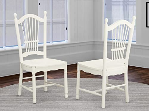 East West Furniture Dover Modern Dining Chair