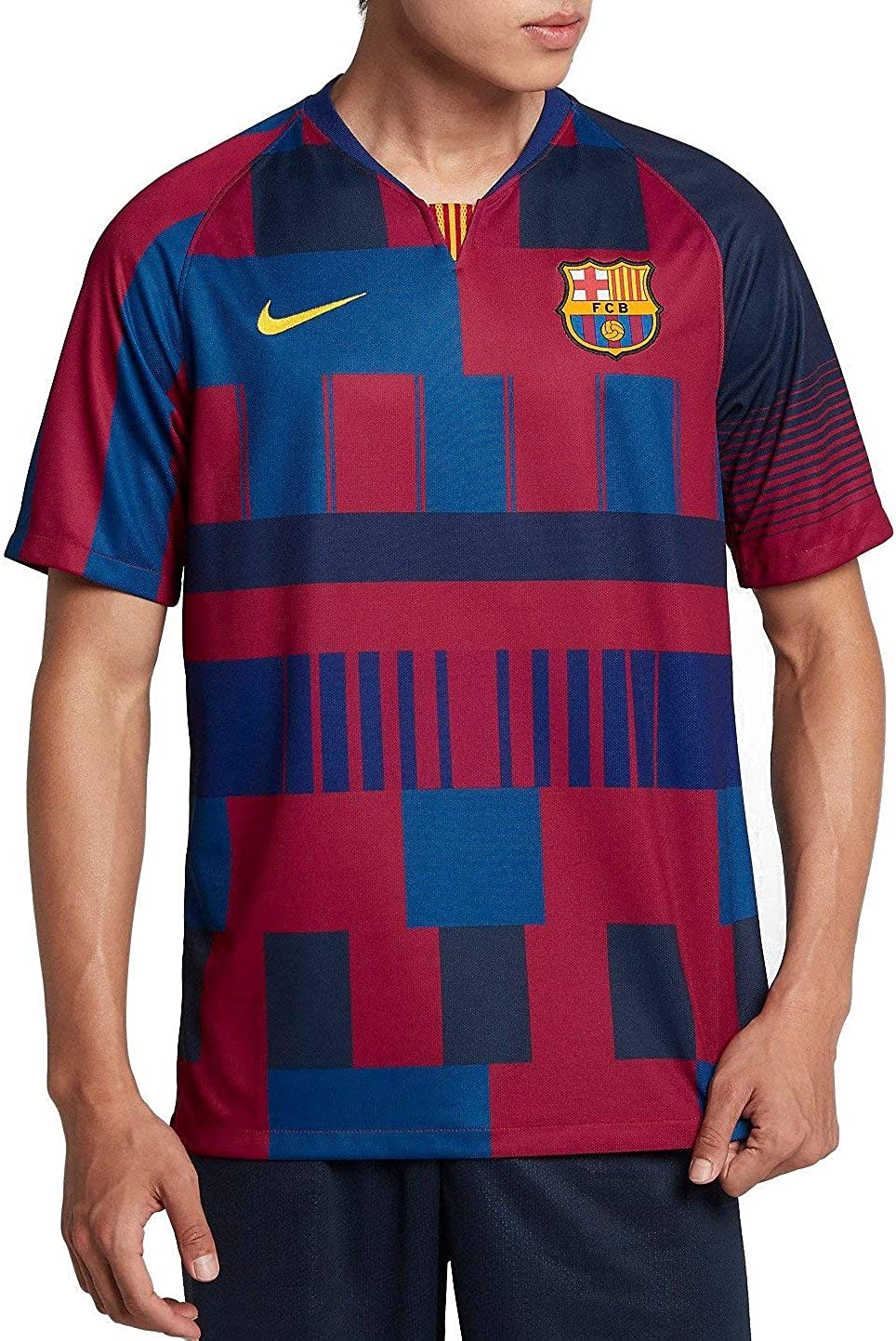 En expansión importar templado  Amazon.com: Nike Barcelona 2019-20 - Camiseta para hombre: Clothing