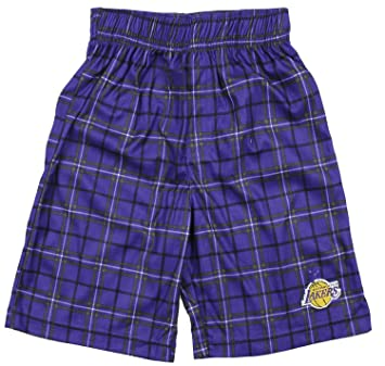 Amazon.com: Los Angeles Lakers NBA Big Boys pantalones ...
