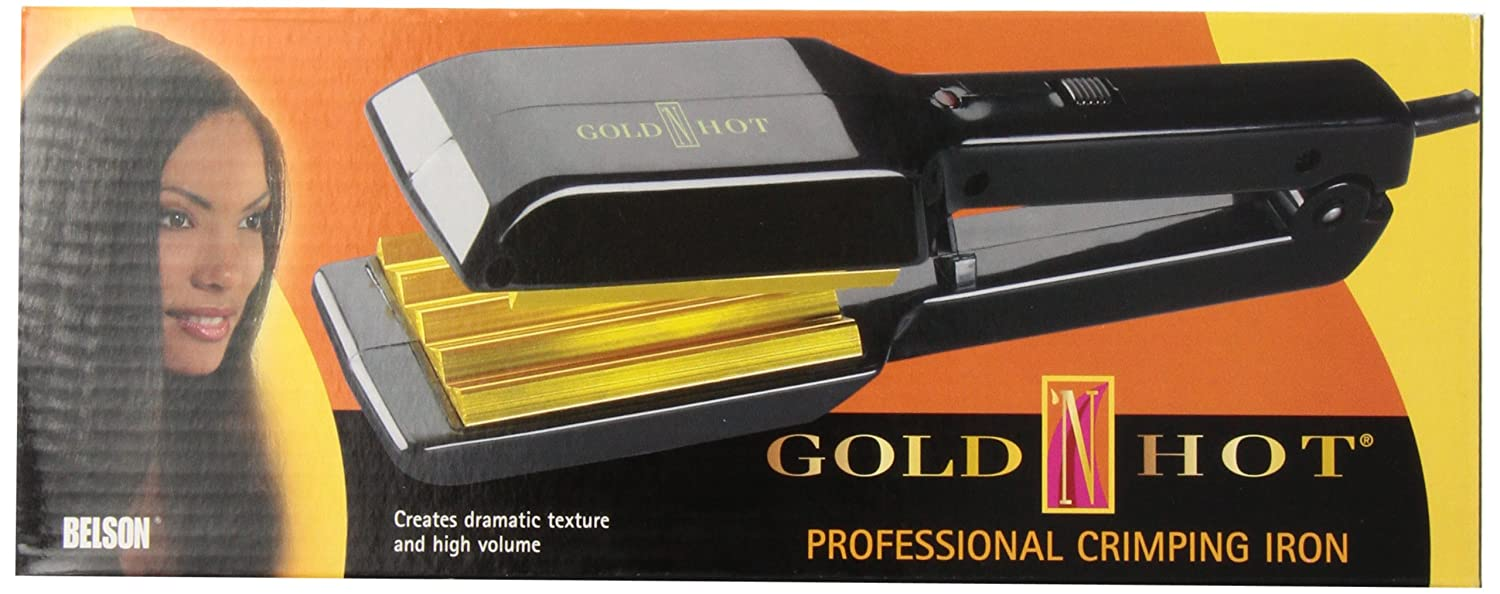 Gold 'N Hot GH9276 Professional Crimping Iron, 2 2 Gold N' Hot