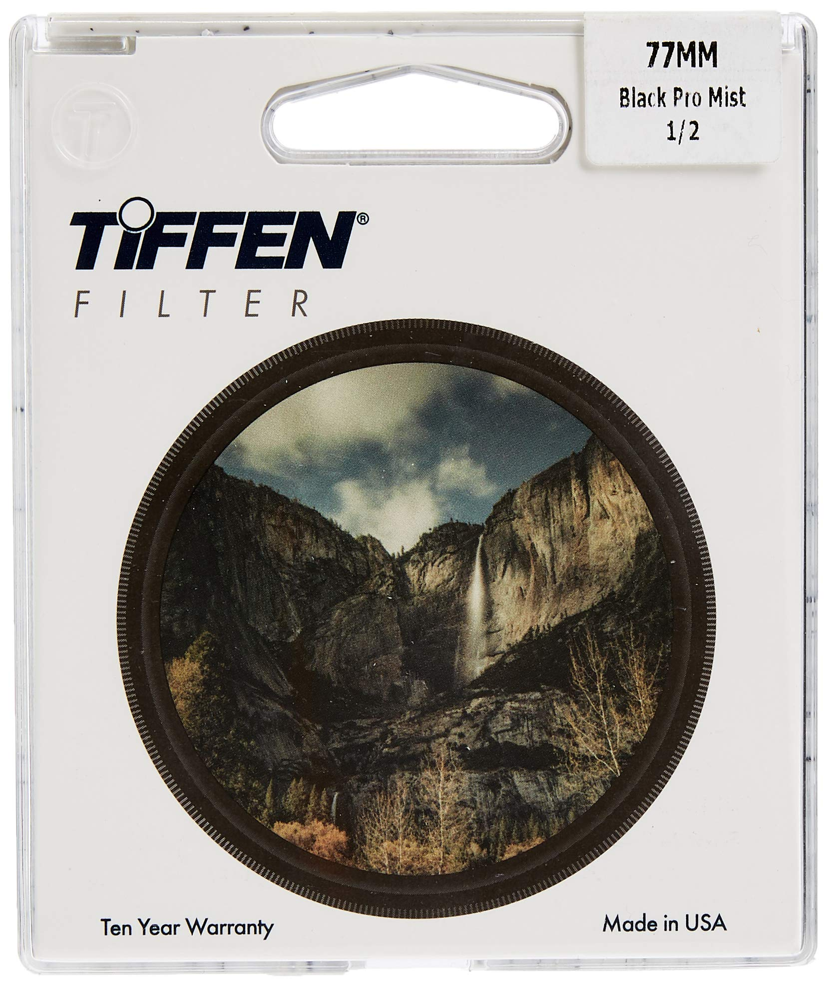 Tiffen 77BPM12 77mm Black Pro-Mist 1/2 Filter by Tiffen