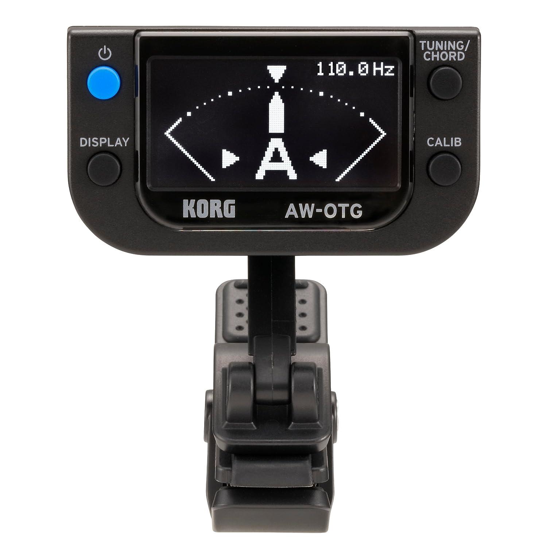 Korg Awotg OLED clip-on Tuner Korg USA Inc.