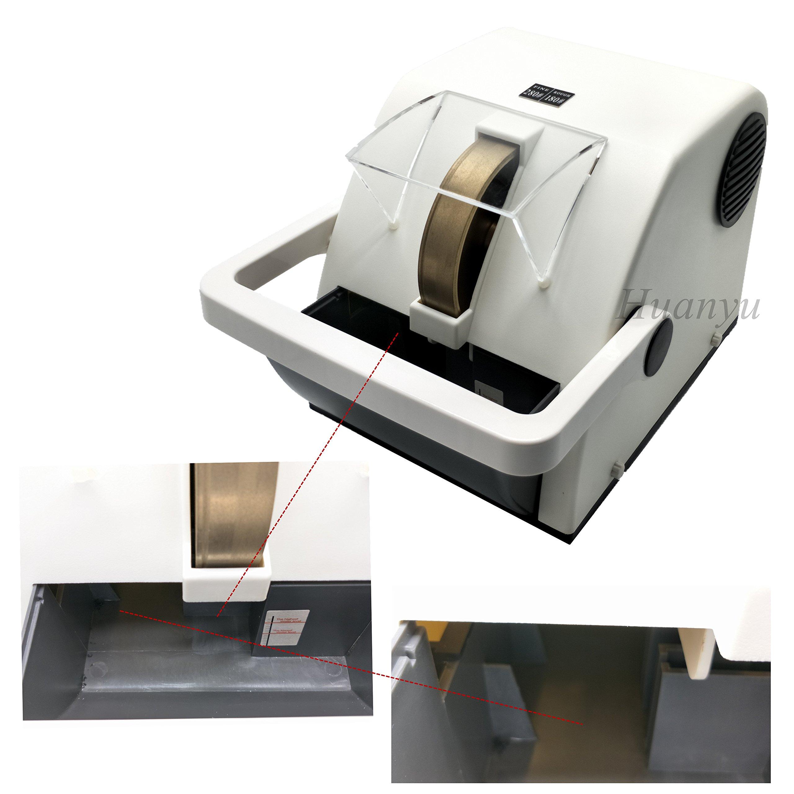 Huanyu Instrument LY-150 Single Wheel Optical Lens Hand Edger Manual Lens Grinder (110V/60Hz) by Huanyu Instrument® (Image #2)