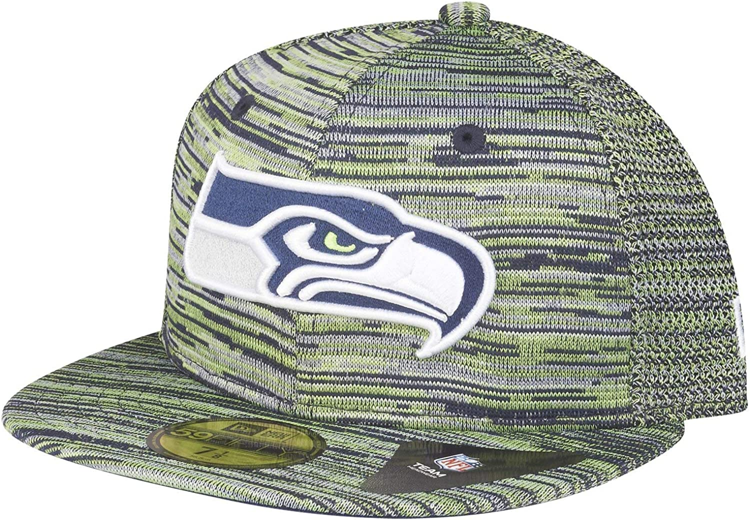 New Era Seattle Seahawks Grey Meets Green Edition 59Fifty Fitted Casquettes