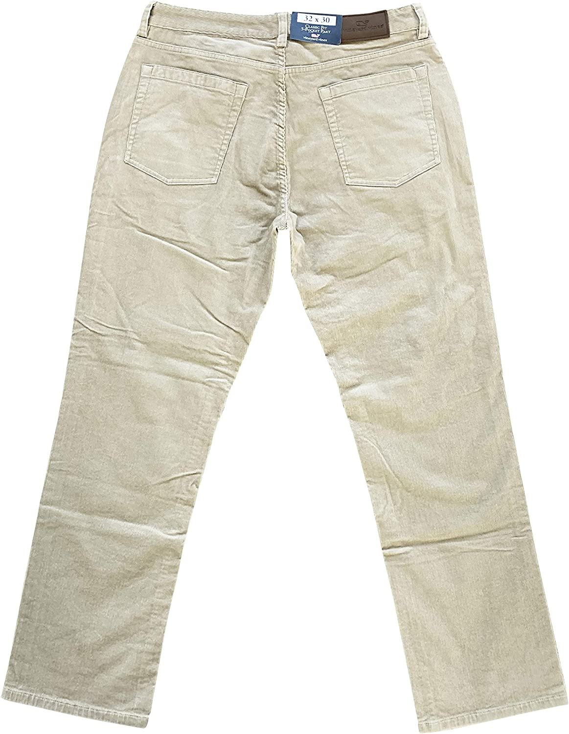 Vineyard Vines Mens Pants Classic Fit Five Pocket Stretch Cords Pant