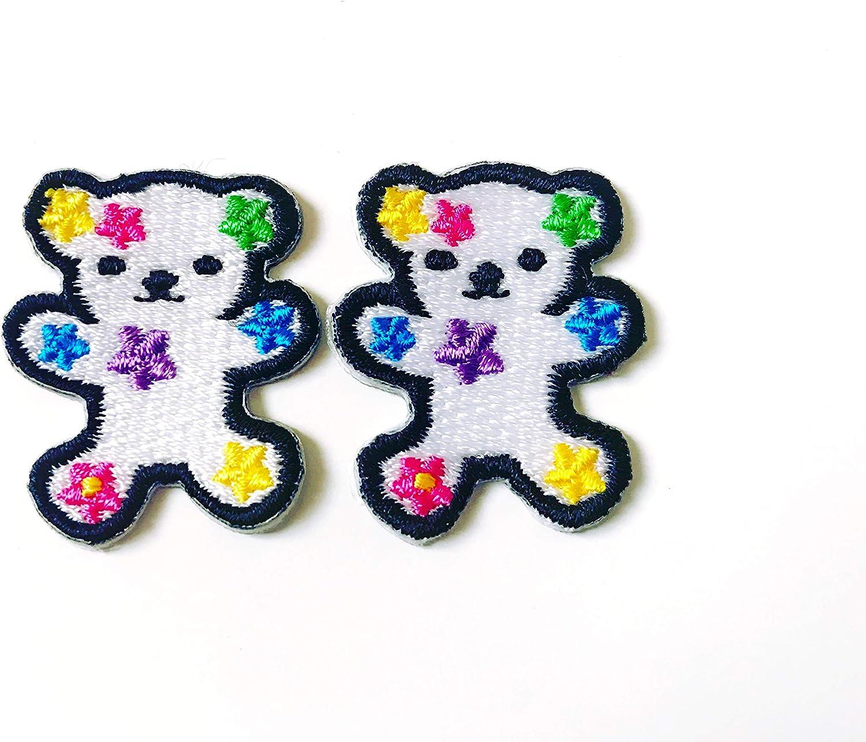 Tyga_Thai Brand Set 2 piezas. Parche bordado con diseño de oso de ...