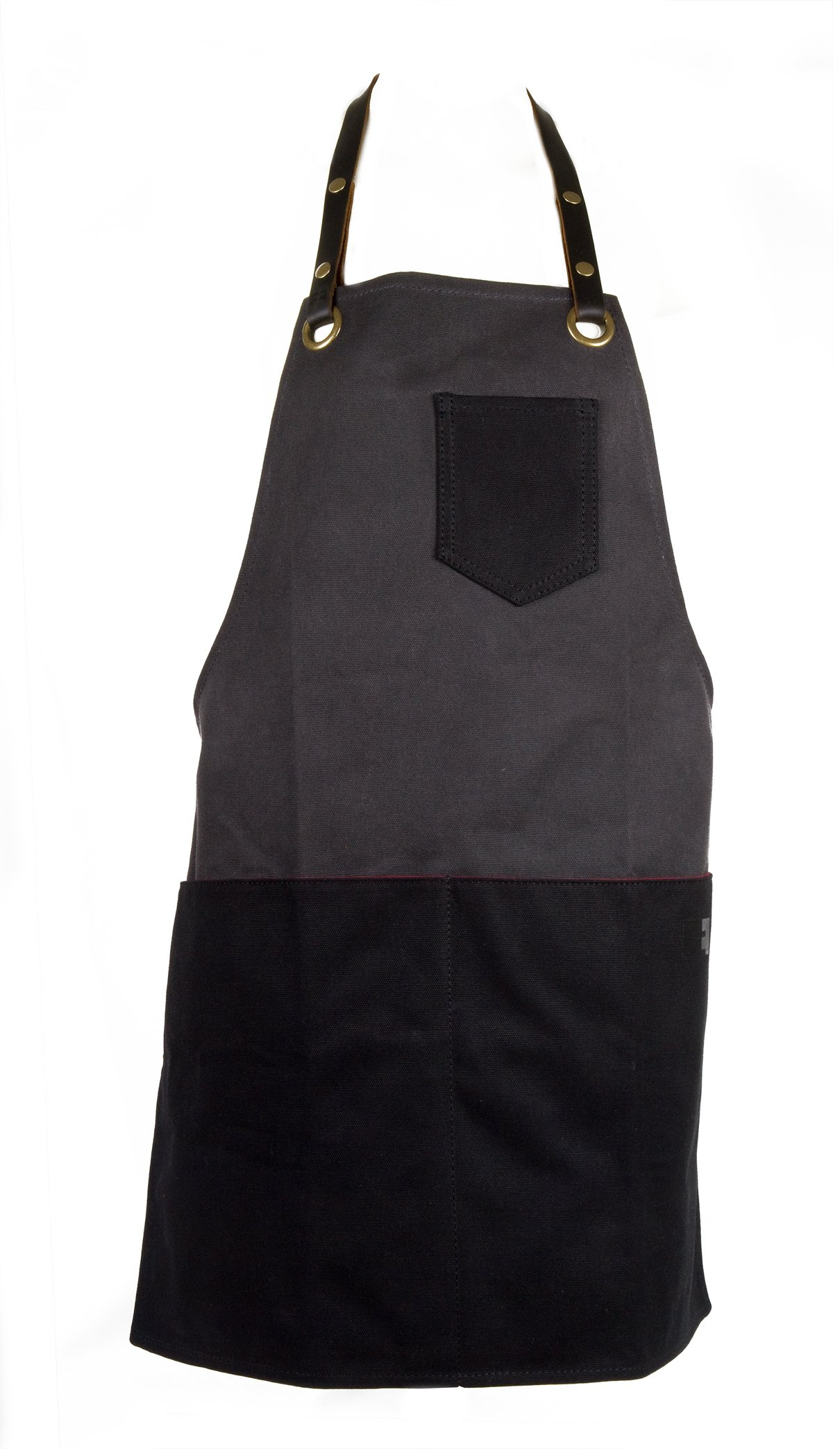 Waxed Cotton Canvas Shop Apron for Chefs, Baristas, Bike or Ski Mechanics, Woodworkers | the Edison Everyday Apron by FAT FELT