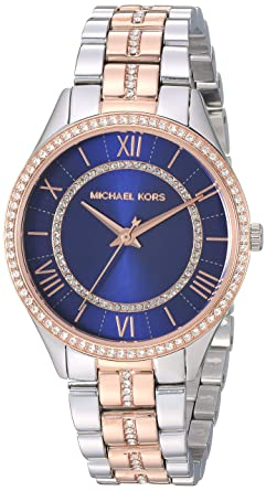 Michael Kors Womens Lauryn - MK3929 Two-Tone One Size: Amazon.fr ...