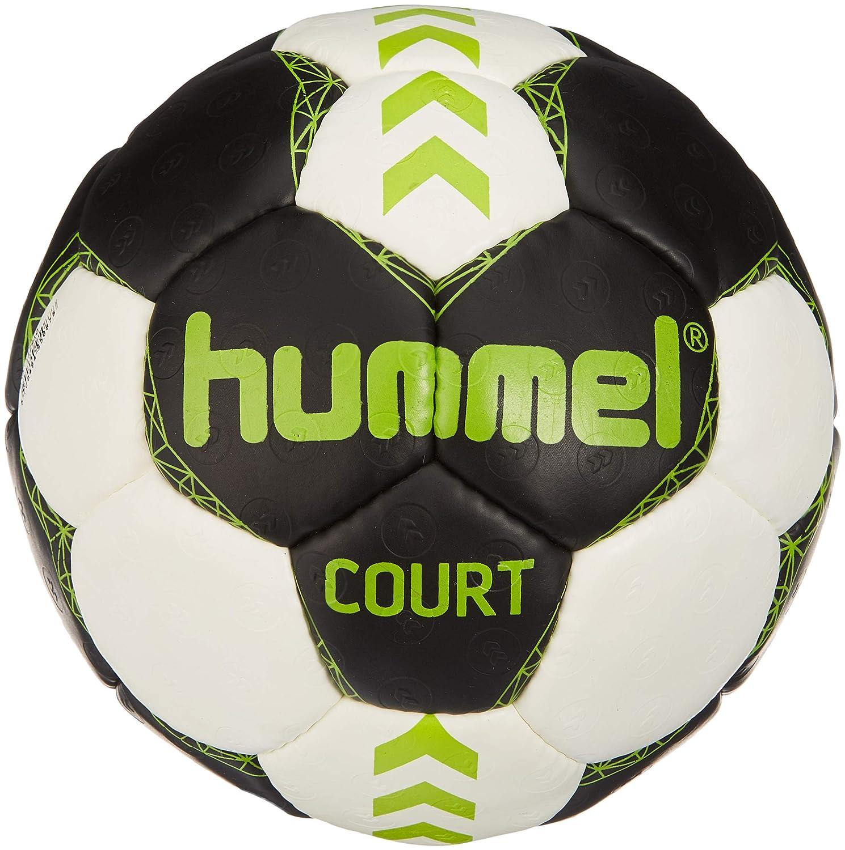 Hummel Ni/ños Court de Balonmano 1 Asfalto//Green Lime