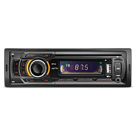 myTVS MP-E2 Single Din Car Media Player