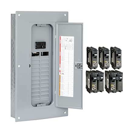 square d by schneider electric hom2448m100pcvp homeline 100 amp 24square d by schneider electric hom2448m100pcvp homeline 100 amp 24 space 48 circuit indoor