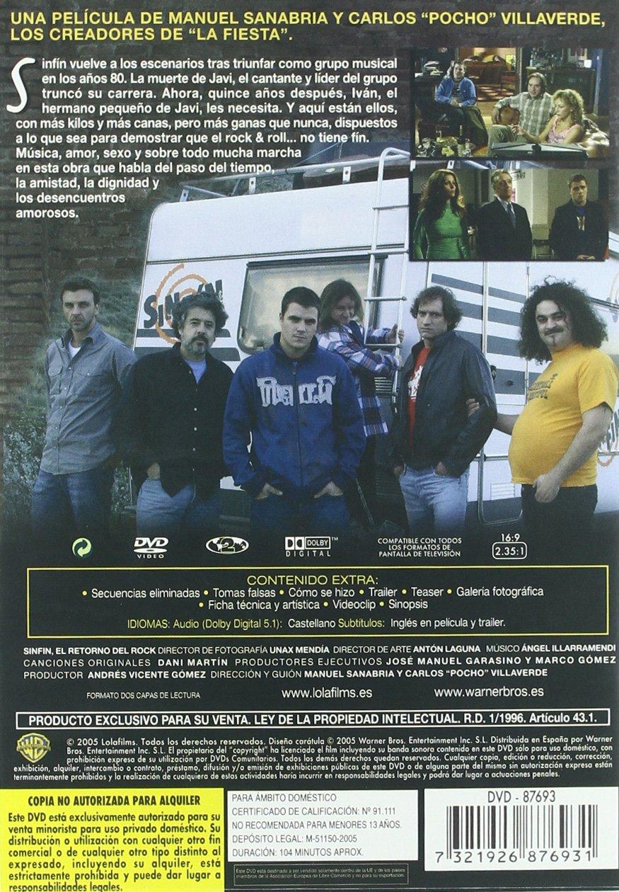 Sinfín (2005) [DVD]: Amazon.es: Miguel Angel Rodriguez ...